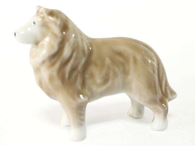 ミニ骨壷 大型犬 紀州犬 北海道犬 シェパード風 ( 有田焼 ) 24番 AD-23