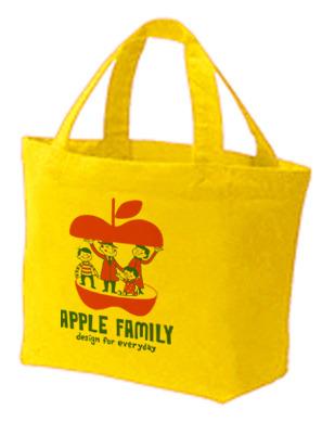 【再販】APPLE FAMILY ランチトートバック Sサイズ【受注生産品】