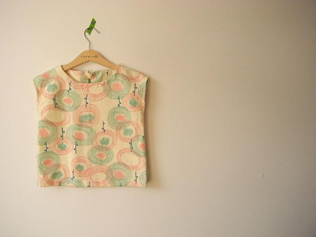 バニラン・circleflowerフレンチスリーブ*100size