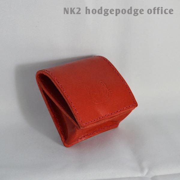 にゃごのコインケース(レッド)