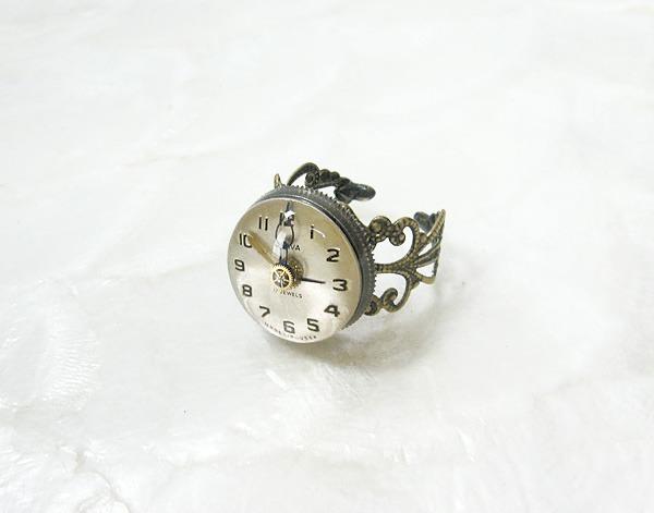 時計石の指輪・壱