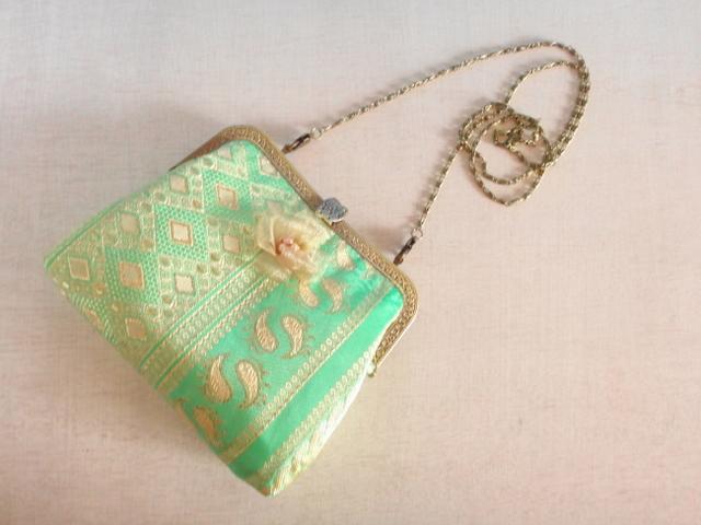 チュニジア布の2wayバッグ(春風)ご注文品