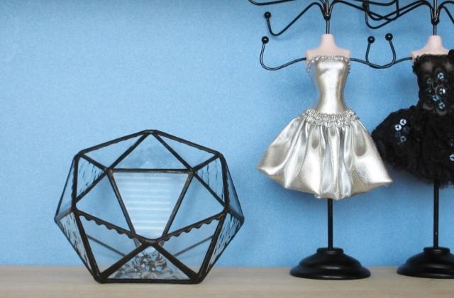 小さめダイヤモンド型テラリウム