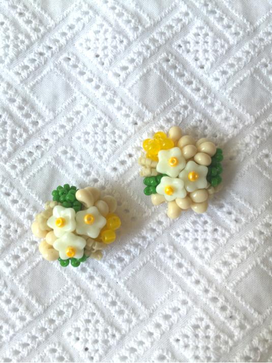 花と木の実イヤリング/nonohana