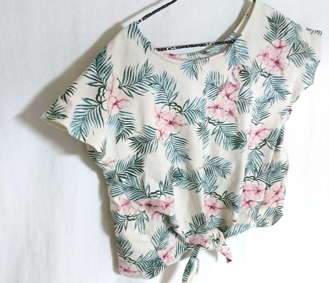南国フラミンゴ柄結うTシャツ サイズ110 セール