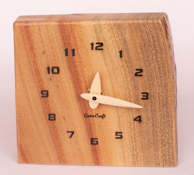 樟の木の壁掛け時計2