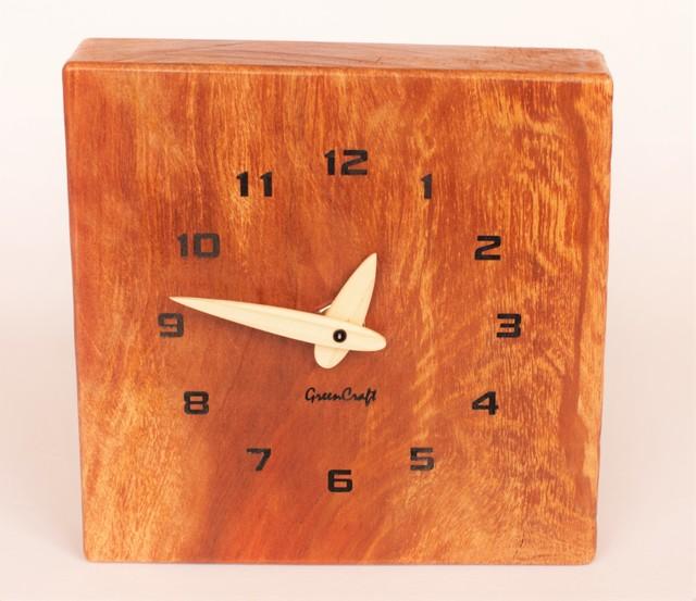 木斛(モッコク)の壁掛け時計1