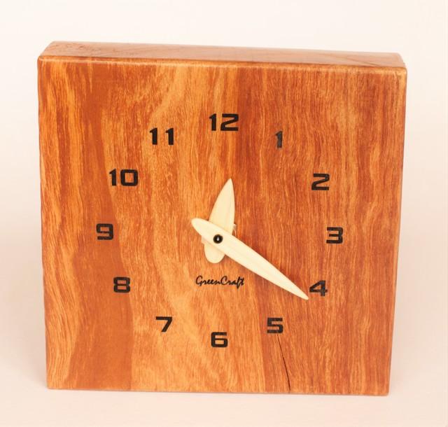 木斛(モッコク)の壁掛け時計2