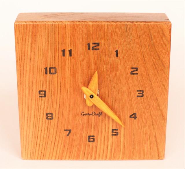 欅(ケヤキ)の時計