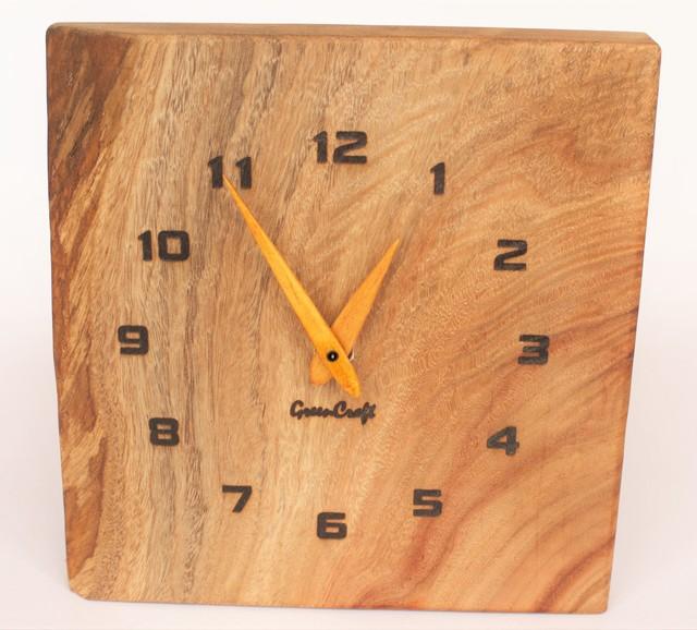 樟の木の壁掛け時計5