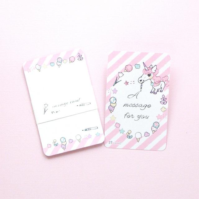 メッセージカード(10枚入り)_ユニコ...