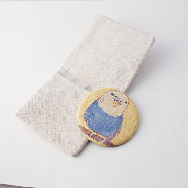 布てかがみ専用小袋 φ57mm用 無地またはワンポイント