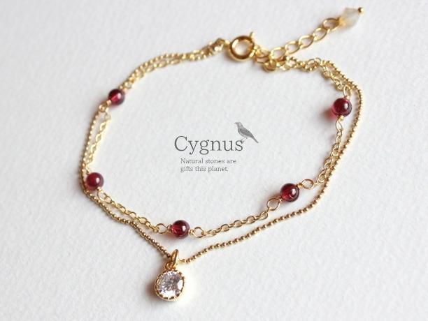 cygnus/ガーネットAAA1月誕生石