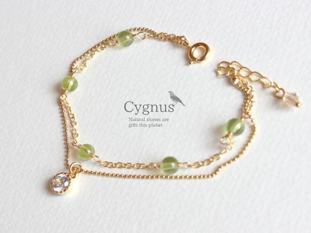 cygnus/ペリドットAAA 8月誕生石
