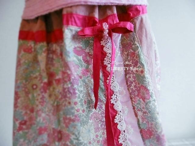 ふんわりギャザースカート ※Size:100、110