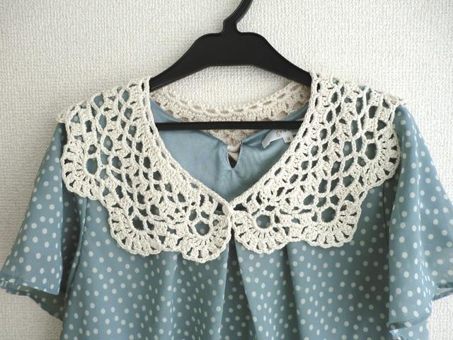 【特価】シルクの大きめティペット(付け襟)