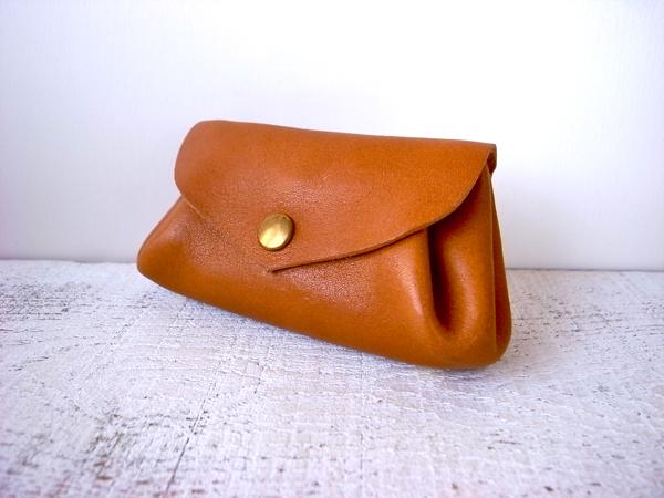 【即納品可能】コロコロ財布 「fave」キャメル