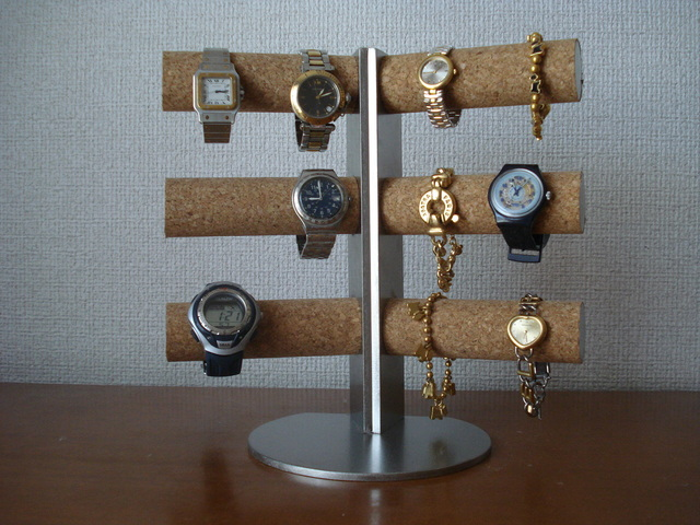 腕時計スタンド 12本掛け角度付き腕時計スタンド スタンダード