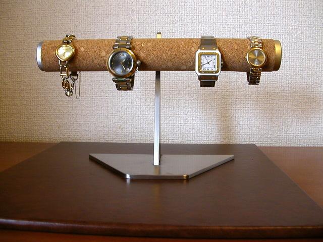 腕時計スタンド 4本掛けインテリア腕時計収納ディスプレイ