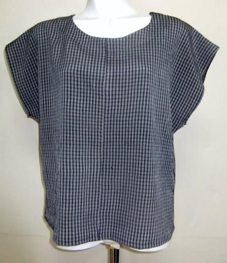 着物リメイク 縮緬の着物で作ったTシャツ 1376