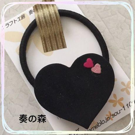 16-0207 革のヘアゴム(小)