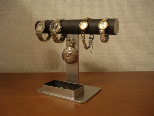 腕時計スタンド 腕時計、懐中時計ブラックスタンド