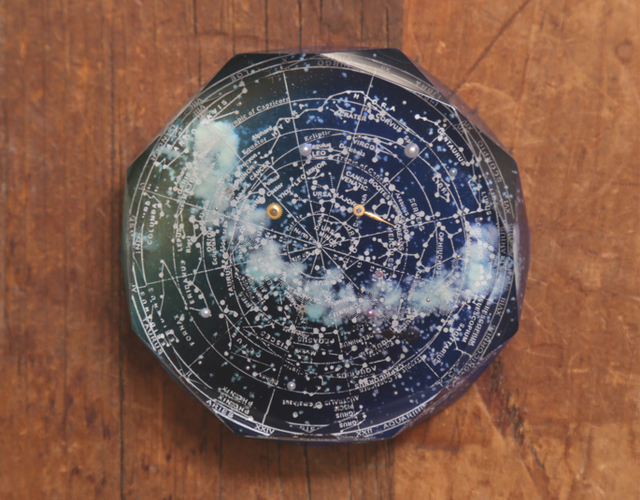 SORRY --SOLD OUT--【難あり】購買部230:碧銀石の星圖盤