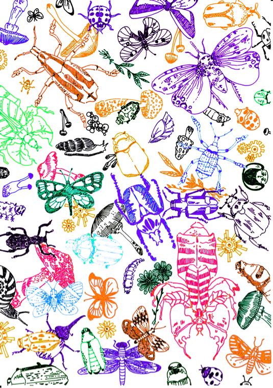 昆虫スマホケース第二弾