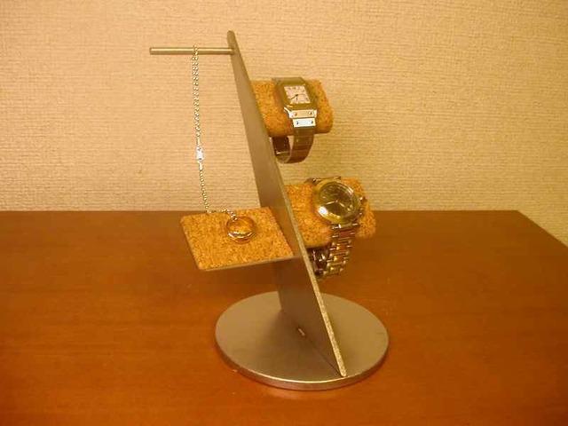 腕時計収納 腕時計&ペンダントネックレスディスプレイ収納スタンド