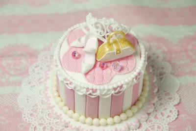 シュガークラフトケーキ ガールズアイテム