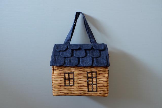 OUCHI box bag M demiバスケット