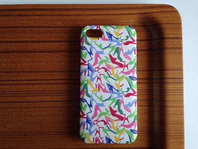 リバティ*クララ* iPhone5/5s スマホカバーケース