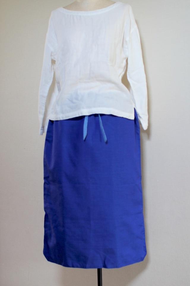 サマースカート(あお)