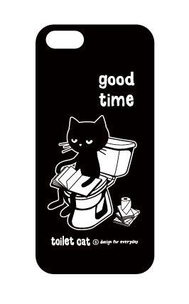 【k様専用オーダーページ】トイレとねこ  iPhone5cケース【受注生産品】