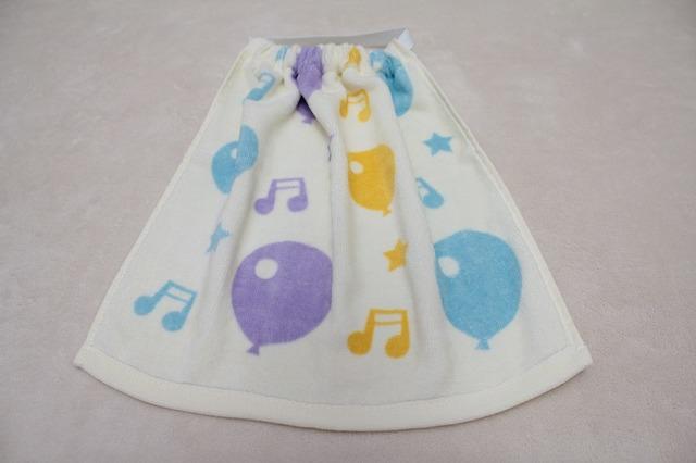 タオルエプロン 風船♪(紫)