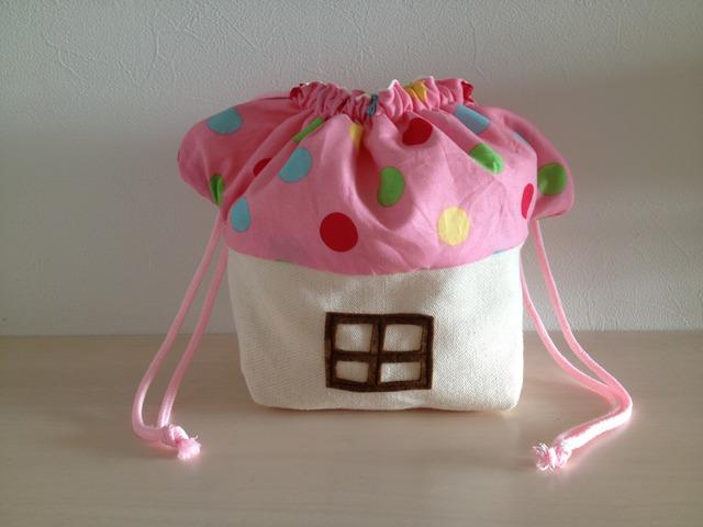 《Yさまオーダー》きのこのお家のお弁当袋♪