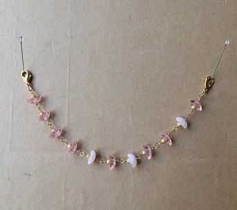 お花畑(ピンクxピンク) 羽織紐