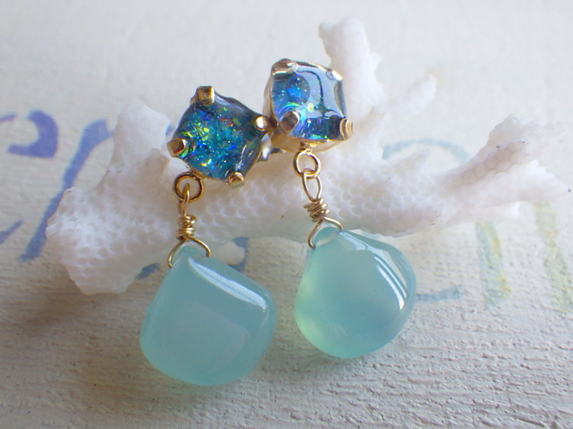 ����Ρ�Ocean Opal ���륻�ɥˡ��Υɥ�åץԥ��� *������ݥ���*