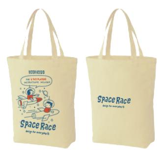 SPACE-〜アメリカン・レトロ・ゲーム〜 トートバック Mサイズ【受注生産品】