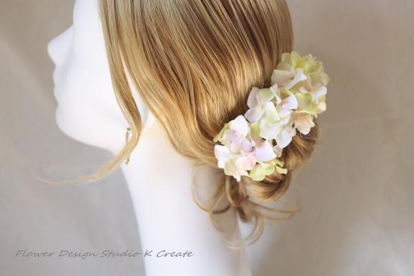 フレッシュグリンの紫陽花のUピン(GNPK L:3本セット)
