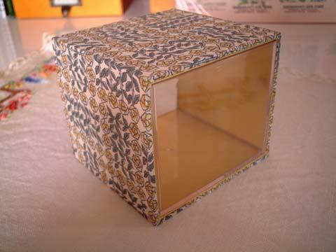 リバティSleepingrose黄/スライド式BOX