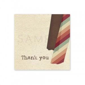 (四角SH9)〈Thank youシール四角〉☆マスキングテープ コラージュ風《ベージュ系01》