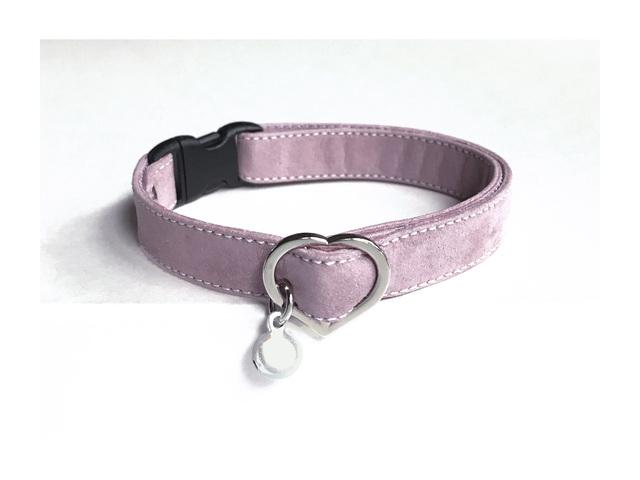 【再販】cat collar * lilac(S)