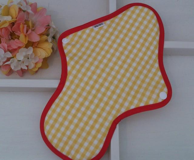 可愛い布ナプキン『アップル』昼用Lサイズ