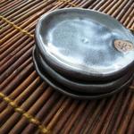 豆皿C(天目、3枚セット)