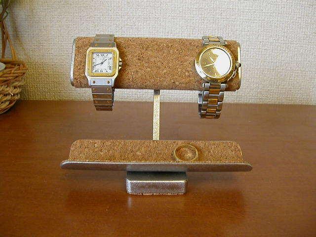 誕生日ギフトに♪ だ円、小物入れ付き腕時計スタンド ak-design