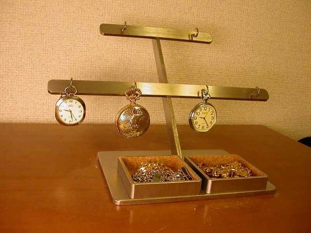 懐中時計スタンド 6本掛け懐中時計スタンド