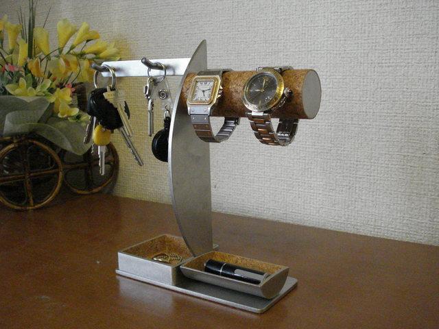 キーホルダー、印鑑、腕時計、トレイスタンド