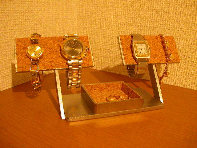 腕時計スタンド オーソドックス4本掛け腕時計スタンド