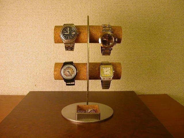腕時計スタンド 三日月ムーン腕時計ディスプレイスタンド!角トレイバージョン